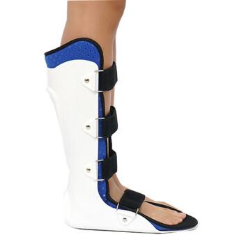 颖健 医用踝关节固定支具 足下垂足内外翻脚踝小腿骨折扭伤护具 标准款(不带护板)-左脚 S(鞋码35-38码)