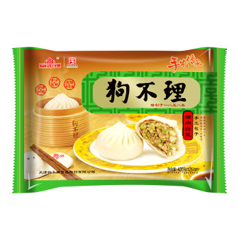 狗不理 手工包子 豬肉白菜口味 420g (12個) 新老包裝隨機發送,降價幅度17.1%