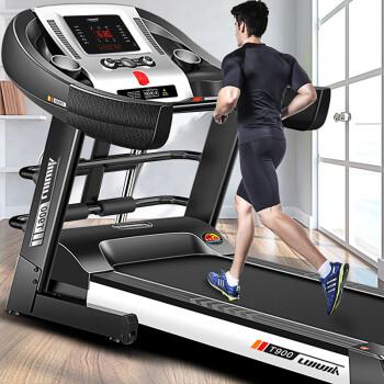 立久佳跑步機 家用靜音折疊運動健身器材T900 旗艦版多功能/59cm跑臺,降價幅度7.5%