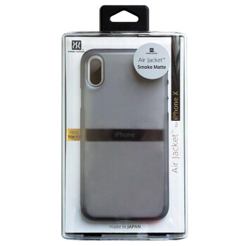 outlet store 51754 ca603 Power Support Air Jacket保护壳适用于iPhone X/XS/MAX/XR 苹果X【磨砂透 ...