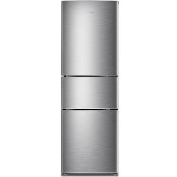 容声(Ronshen) 218升 小型三门冰箱 风冷无霜 电脑控温中门宽幅变温BCD-218WD11NY