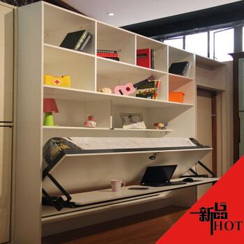 阳台/户外 折叠床 钢琴隐形床多功能创意省空间折叠家具壁柜床午休床
