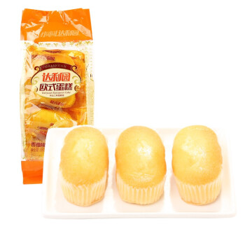 达利园 欧式蛋糕 香橙味 225g *10件
