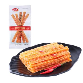 卫龙 辣条 大面筋(香辣味)68g *60件