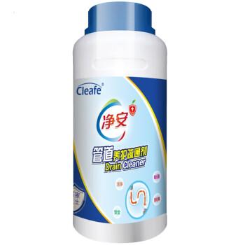 净安(Cleafe)管道疏通剂 600g/瓶 下水道疏通剂 通马桶厕所 *2件