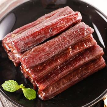 科尔沁 休闲肉脯零食 内蒙古特产 手撕风干牛肉干原味400g