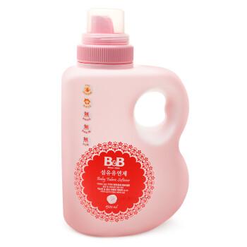 保宁(B&B) 婴儿洗衣柔顺剂 韩国进口茉莉香1500ml瓶装柔顺洗衣清洗液 婴幼儿清洗剂 爱护新生儿童宝宝柔顺剂