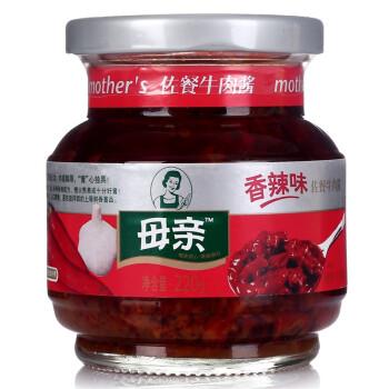 母亲 佐餐牛肉酱 香辣味 220g *10件