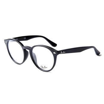 Ray-Ban 雷朋 RB 2180VF 亚洲定制系列时尚男女款黑色镜框光学眼镜框眼镜架