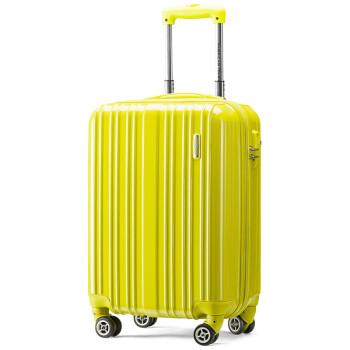 美旅拉杆箱 男女商务行李箱静音万向轮TSA锁旅行箱大容量可扩展 20英寸登机箱吴磊同款密码箱79B黄色