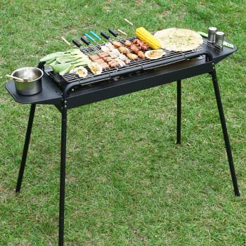 家庭烧烤_大号烧烤架户外5人以上全套家用烧烤工具野外碳烤炉木炭烧烤炉子 高级