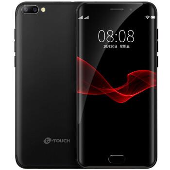 天语 K-TOUCH X11全网通 2G+16G 移动/联通/电信4G智能手机 双卡双待 曜石黑