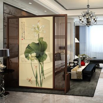 新中式屏风隔断客厅玄关酒店卧室 简约现代中式座屏风
