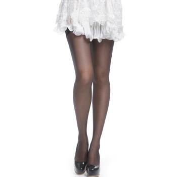 【京东超市】梦娜丝袜 女 薄 脚尖透明单加裆包芯丝连裤袜 3肤3黑 3001 均码