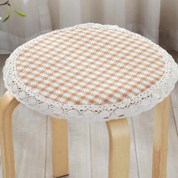 定做四季加厚防滑圓凳椅子墊冬季圓形坐墊圓凳坐墊餐椅墊圓凳子套圖片