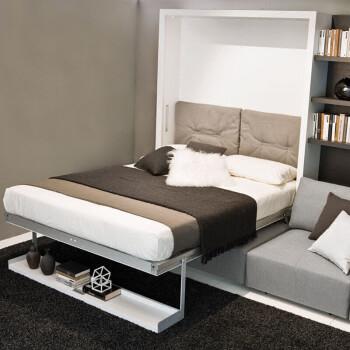 壁床隐形床折叠多功能壁柜床客厅沙发床客厅书房隐形床沙发隐形床 1.