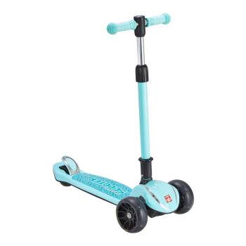 gb好孩子 儿童滑板车 一键折叠三轮闪光扭扭脚踏摇摆车 蓝色SC400-Q202BB