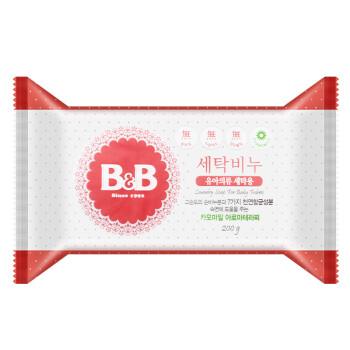 保宁(B&B)韩国原装进口  婴儿洗衣皂 洋甘菊 200g儿童洗衣皂 零刺激宝宝洗衣皂 肥皂