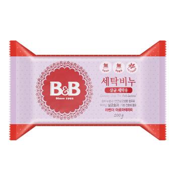 保宁(B&B) 韩国原装进口 婴儿洗衣皂 薰衣草 200g儿童洗衣皂 零刺激宝宝洗衣皂 肥皂