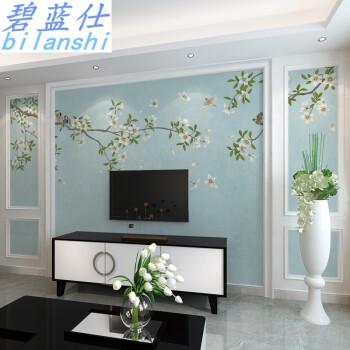 客廳新中式現代簡約電視背景墻5d立體3d墻紙立體影視墻壁紙壁畫 8d