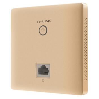 TP-LINK AC1200双频无线面板AP 企业级全屋分布式wifi接入点 酒店别墅大户型无线覆盖 千兆网口 AP1202GI-PoE