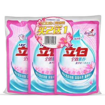 立白 全效馨香洗衣液 500g*3/袋