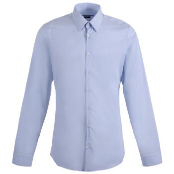 GUCCI 古驰 男士浅蓝色棉质商务休闲衬衫 337685 Z4656 4850 15+++