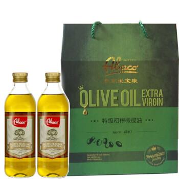 Abaco 佰多力 特级初榨橄榄油 750ml*2瓶