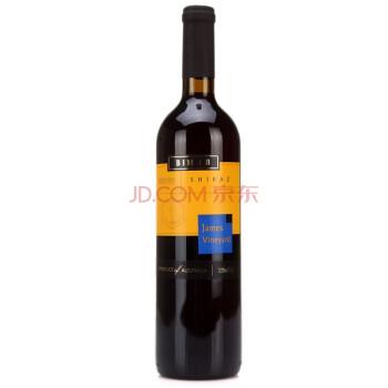 澳洲进口红酒 詹姆士酒庄 Bin18西拉干红葡萄酒750ml *3件
