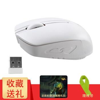 米徒(ME TOO) 无线鼠标 笔记本电脑台式机办公游戏鼠标商务出差无限鼠标(省电小巧便携无线鼠标) E5se无线鼠标-白色