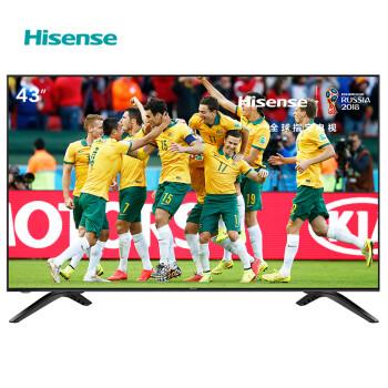 海信(Hisense)HZ43E35A 43英寸 丰富影视教育资源 全高清电视