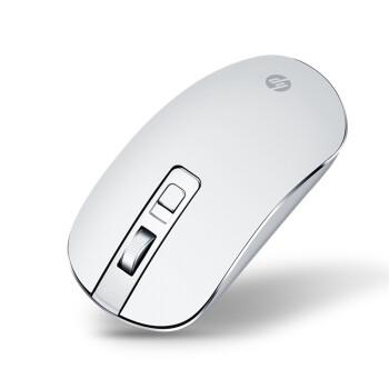 惠普(HP)S4000无线鼠标 办公高性能鼠标 时尚办公休闲娱乐无线鼠标 银白色 S4000无线轻便鼠标