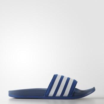adidas 阿迪�_斯 游泳 男子 拖鞋 �{ AQ4936 如�D 42
