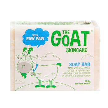 The Goat Skincare 澳洲进口山羊奶皂手工皂儿童婴儿沐浴皂番木瓜味100g