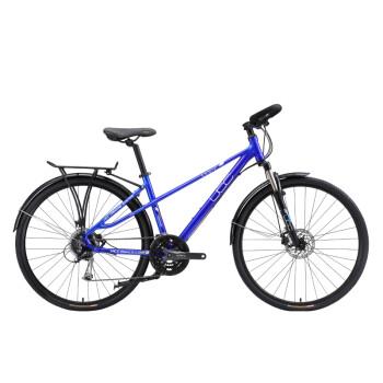 UCC 款兰蒂斯2 男款旅行自行车 城市休闲通勤单车 18款兰蒂斯男款2电光蓝 17寸