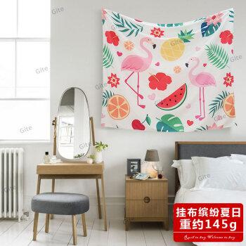 挂布ins风北欧墙壁装饰品墙上挂件墙面宿舍少女创意家居饰背景布 挂布