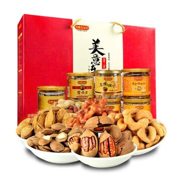 姚生记 美意连年 干果零食礼盒 (1089g)