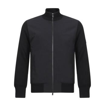 Z ZEGNA 杰尼亚 奢侈品 男士黑色羊毛/聚酯纤维上衣外套 VRP64 ZZ155 K09 M码