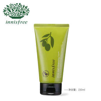 悅詩風吟Innisfree橄欖油泡沫潔面乳150ml,降價幅度5.5%