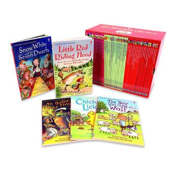 我的第二个图书馆套装 50册 英文原版 进口故事书 My Reading Library ?3-6岁 [平装] [4岁及以上]