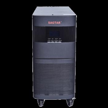 SAGTAR UPS不间断电源 3C10KS 10KVA/8KW长备电主机机房服务器备用电源 备用30分钟