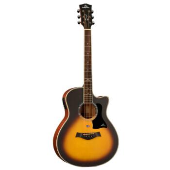 kepma 卡马 吉他民谣木吉他初学者乐器 缺角41寸 A1CE日落色电吉他