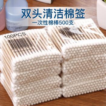 双头棒棉签500支装