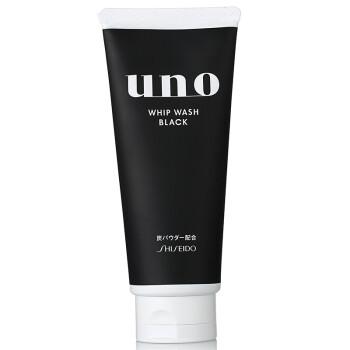 【京东超市】吾诺(UNO )控油黑炭 洁面膏 130g (资生堂男士洗面奶)