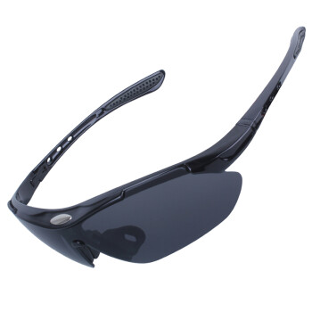DEROACE自行车骑行运动户外太阳眼镜 男女山地车电动车摩托车防风沙装备