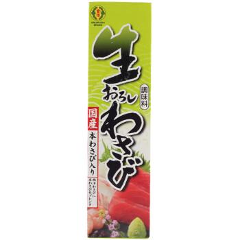日本原装进口 日本芥末酱 金印芥末青芥辣酱 调味料寿司鱼生刺身山葵芥末膏43g