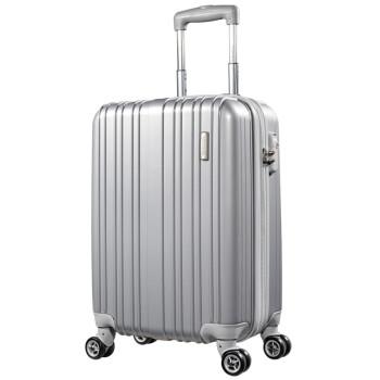 美旅拉杆箱 男女商务行李箱静音万向轮TSA锁旅行箱大容量可扩展 20英寸登机箱密码箱79B银灰色