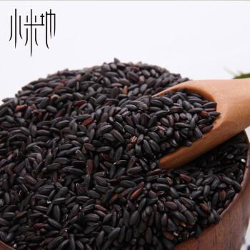 小米地 云南正宗黑米 农家黑米/黑米粥 五谷杂粮黑米500g
