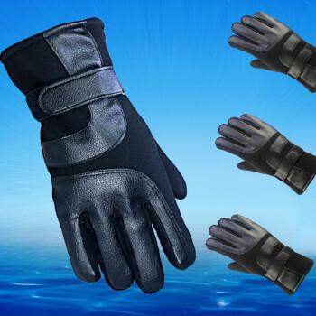 【防寒必备】男士触屏加绒皮手套