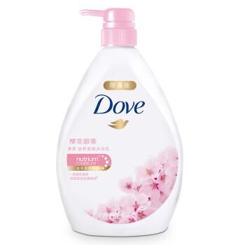 多芬(DOVE)沐浴露 樱花甜香滋养美肤沐浴乳1000g